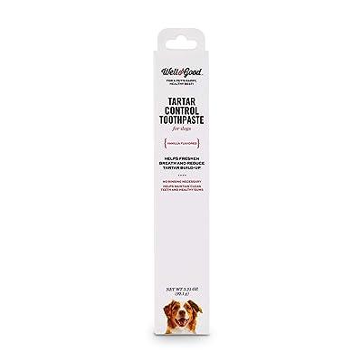 Well & Good Vanilla Flavored Tartar Control Dog Toothpaste