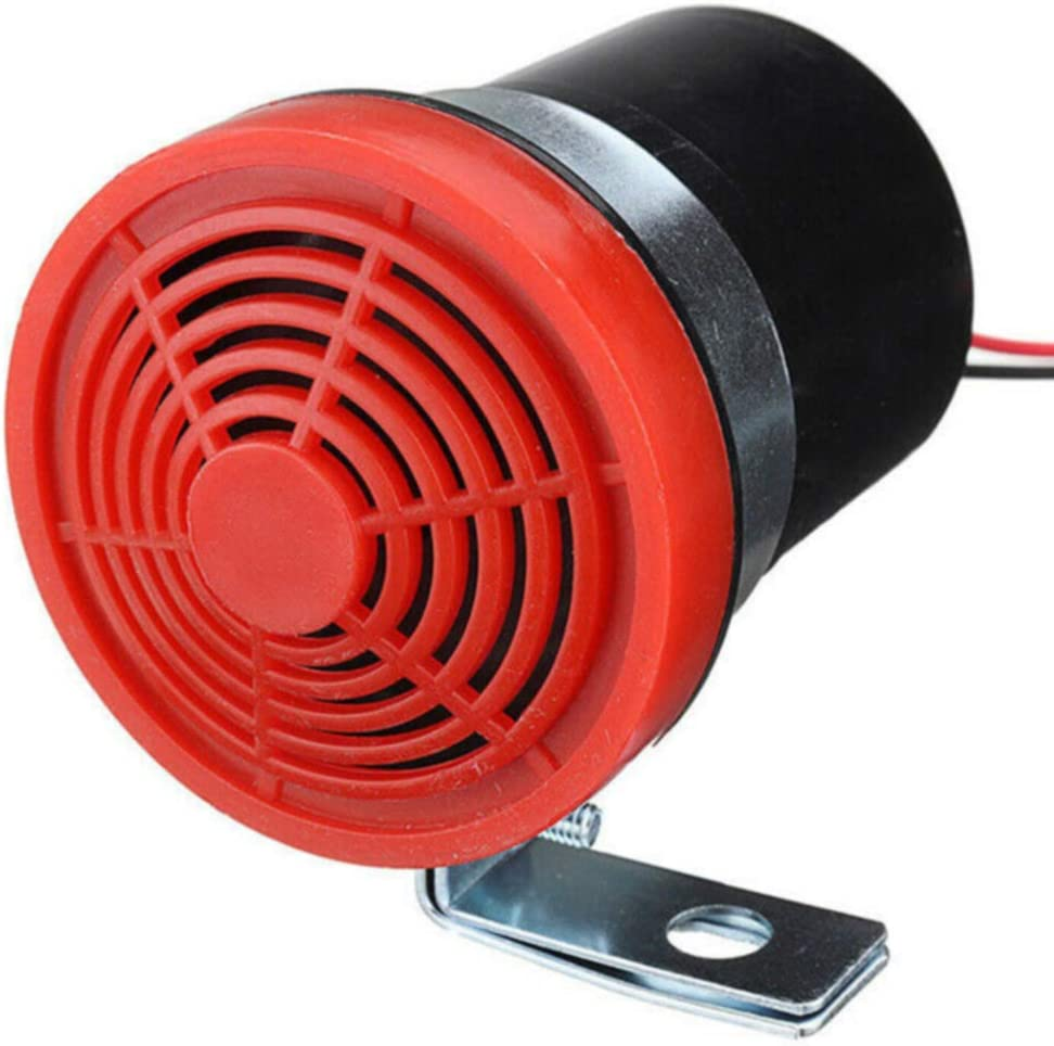 Bocina de marcha atrás, 12 – 24 V, 105 dB, alarma de marcha atrás, bocina inversa, sirena de advertencia, pitido, multicolor