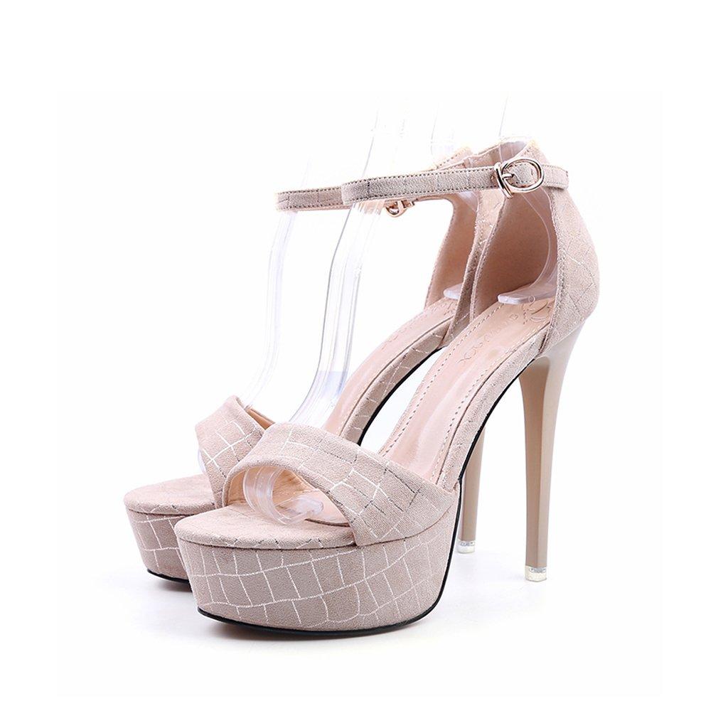 a51d255f 85% OFF Chi Cheng Fang Electronic business Bien con zapatos con punta  abierta palabra sandalia