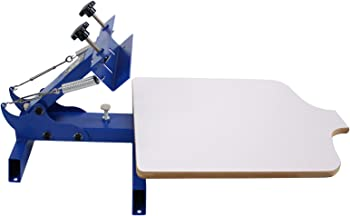 Simple Single 1 Color 1 Station T-shirt Silk Screen Printing Machine
