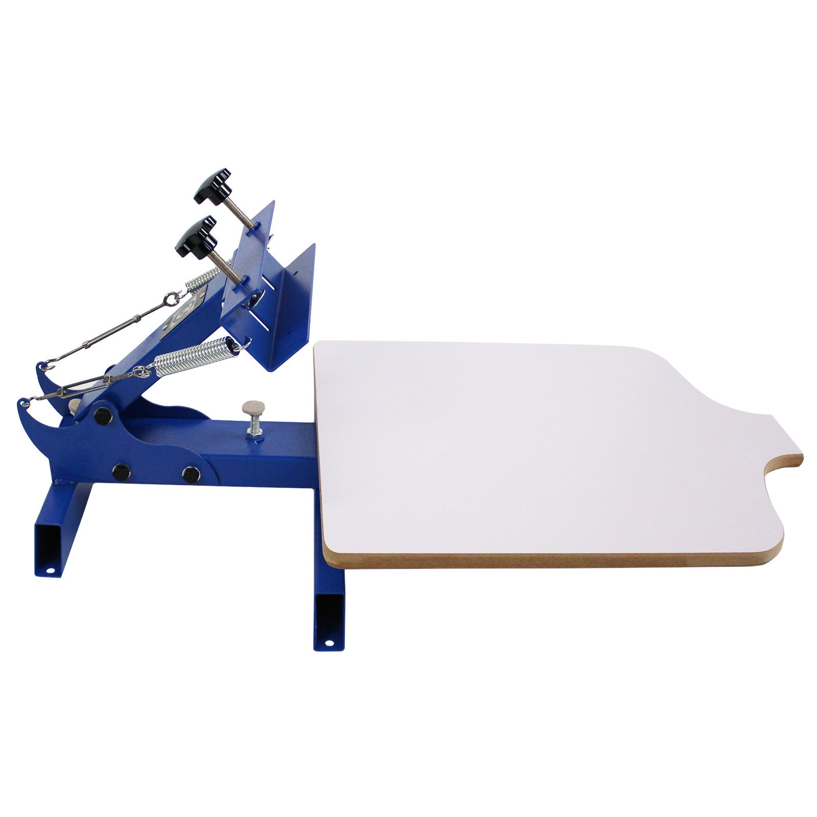 Simple Single 1 Color 1 Station T-shirt Silk Screen Printing Machine NS101 by Commercial Bargains