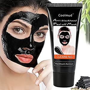 Coolmud Magic Blackhead Remover Mask Activated Charcoal Peel Off Mask New Formulation Remove Blackhead Deeply Facial Mask for Women and Men