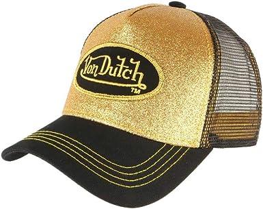Von Dutch - Gorra de béisbol para Hombre, Color Dorado y Negro ...
