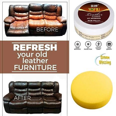 WARMWORD Multifuncional Cuero Restaurando Limpiador Crema de ...
