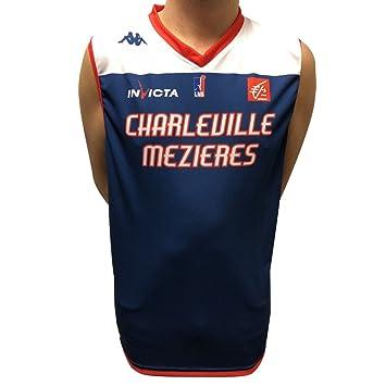 Kappa Baloncesto Estrella charleville-mézieres réplica - Camiseta de Baloncesto para Hombre: Amazon.es: Deportes y aire libre