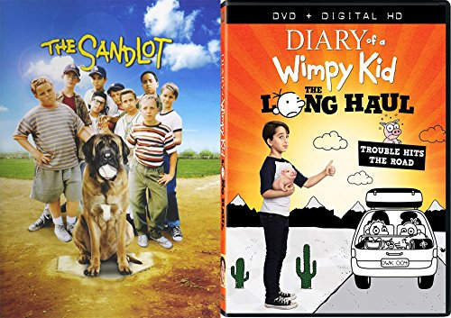 Underdogs Movie Family Fun 2-Pack DVD Diary of A Wimpy Kid The Long Haul & The Sandlot Bundle Double Feature