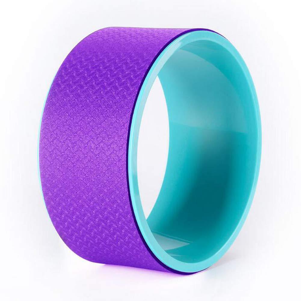 LAIABOR Yoga Rad Hilft Ihre Flexibilität Zu Verbessern und Stärke - der Flexibilität Bei Yogaübungen Belastbar 33  15CM
