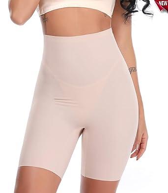 SLIMBELLE Tummy Control Thigh Slighers Slips Culottes sans Coutures Lifter  sans Culotte Culottes Taille Haute Renfort df4f19c9efc