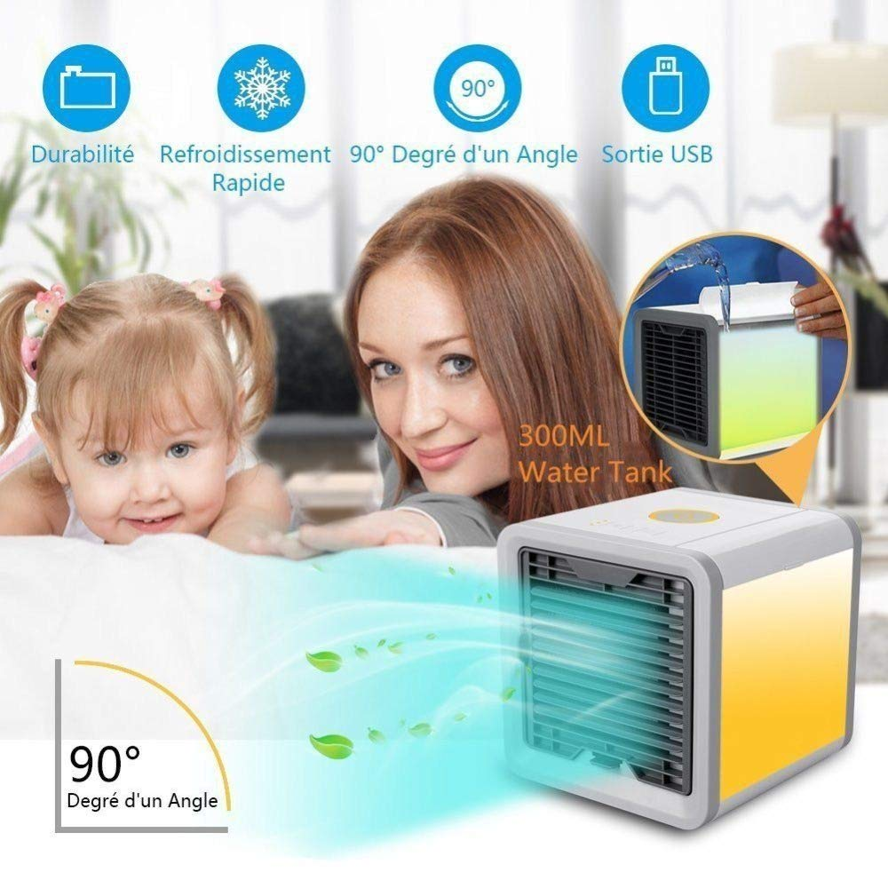 Car Air Cooler Small Car Air Conditioning Appliances Mini Fans Air Cooling Fan Summer Portable Conditioner Auto