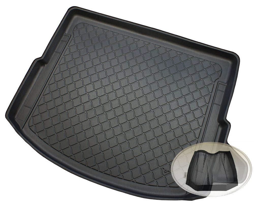 Klett-Organizer Laderaumwanne, Kofferraummatte ZentimeX Z3117057 Gummierte Kofferraumwanne fahrzeugspezifisch