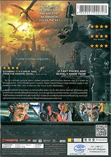 I,Frankenstein (Region 3) Aaron Eckhart, Bill Nighy, Miranda Otto <Brand New DVD>