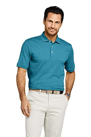 708331cad46 Image Unavailable. Image not available for. Color: Lands' End Men's Supima  Polo Shirt