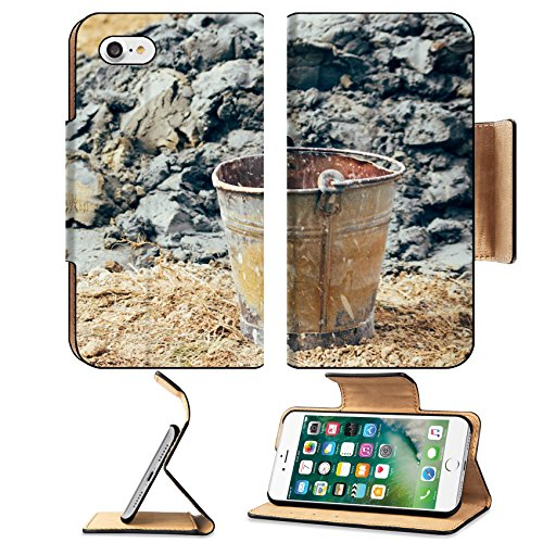 liili-premium-apple-iphone-7-flip-pu-leather-wallet-case-old-rusty-bucket-in-the-field-by-the-pile-o
