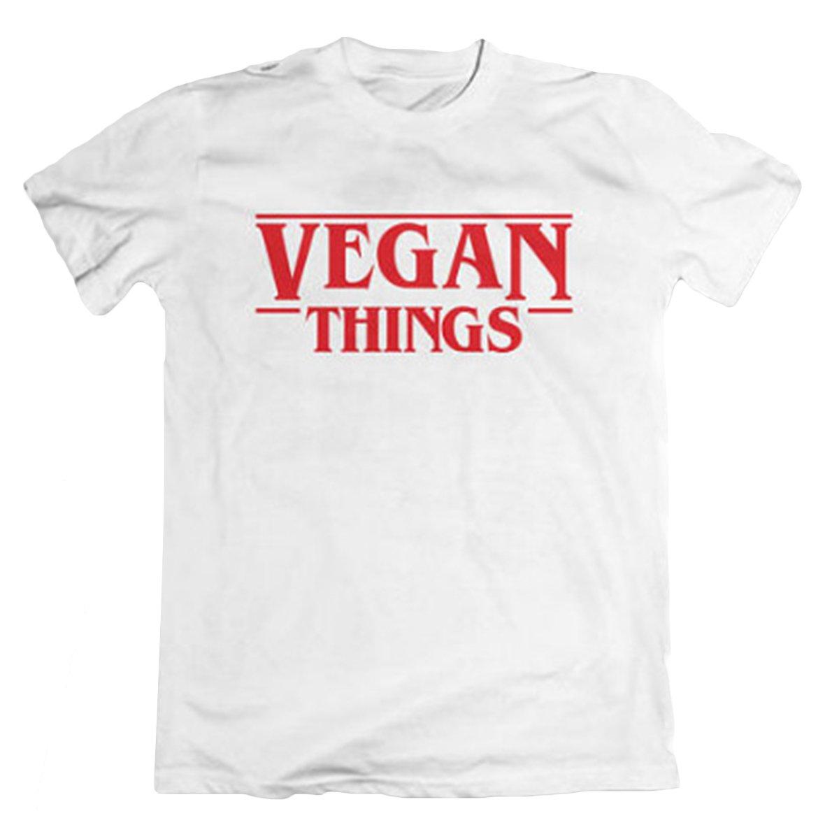 Mtydudxe New Las Camisetas de Las Cosas Veganas de Las Mujeres Ponen Letras a Las Camisas vegetarianas Camisetas de Manga Corta: Amazon.es: Ropa y ...