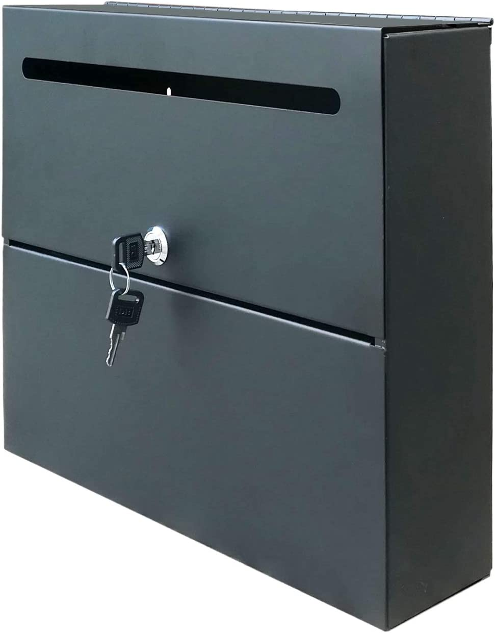 FixtureDisplays Wall-Mountable Locking Inter-Office Mail Suggestion Collection Box 15133