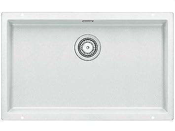 a18f39292 BLANCO SUBLINE 700-U - Fregadero (Blanco, 1 senos, 700 x 400 mm, 19 cm):  Amazon.es: Bricolaje y herramientas