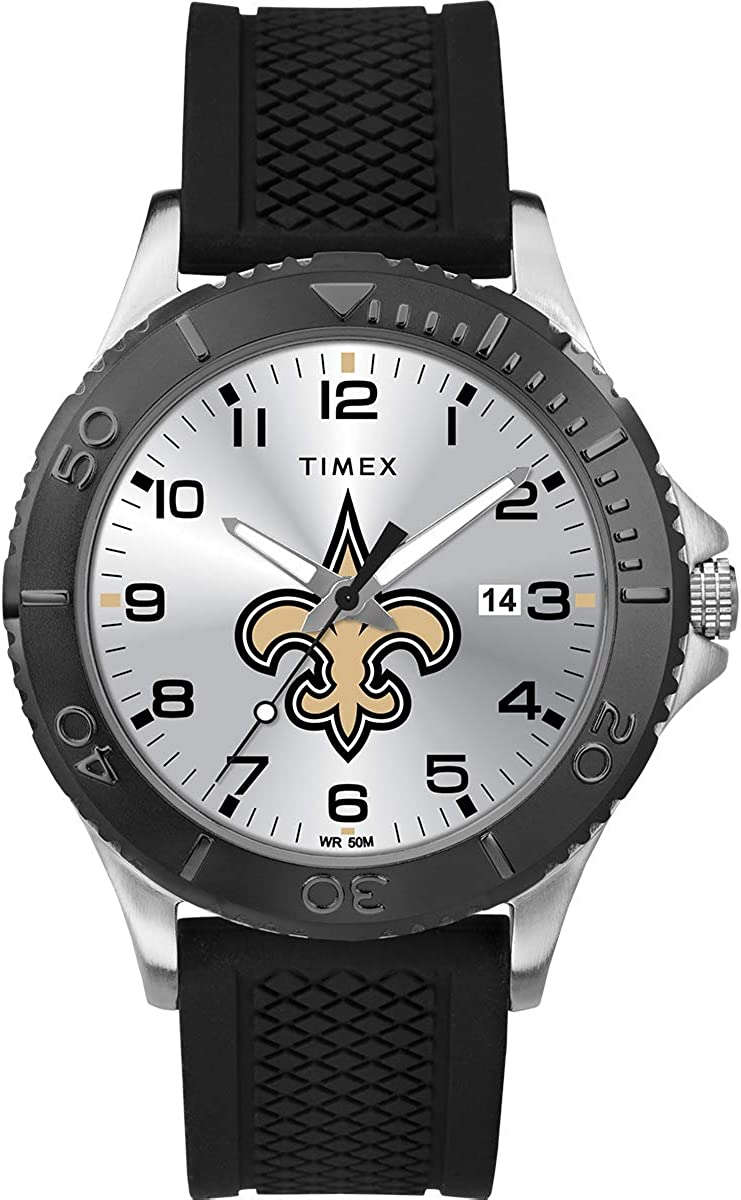 Timex NFL Men's 42mm Gamer Watch