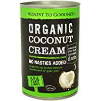 Honest to Goodness Organic Coconut Cream, 400ml