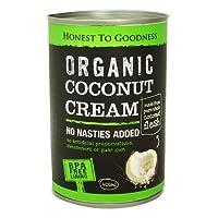 Honest to Goodness Organic Coconut Cream, 400ml