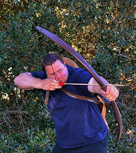 The Lord of the Rings: Aragorn Ranger Bow, Quiver, and 3 Arrows by CastleWallCreations
