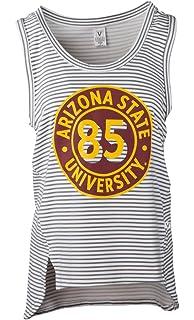c32196ecf63596 Official NCAA Virginia Tech Hokies VT FIGHTING GOBBLERS! Womens Striped  Tank Top