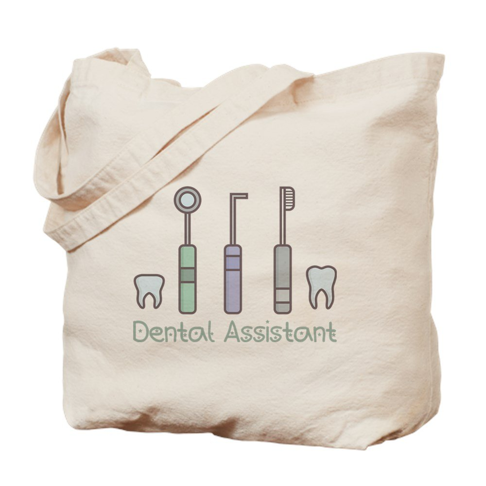 CafePress – Dental Assistant – ナチュラルキャンバストートバッグ、布ショッピングバッグ M ベージュ 16797682006893C B073QTSMV3 MM