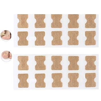 Ahagut 50 Pcs Ingrown Toenail Correction Patch Elastic Correct Patch Pedicure Tool Set Toenail Correction Stickers Foot Care Tool
