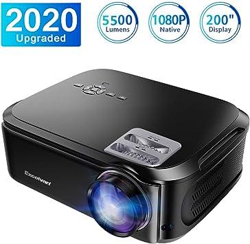 Excelvan - Proyector de Video portátil para Cine en casa, 3000 ...