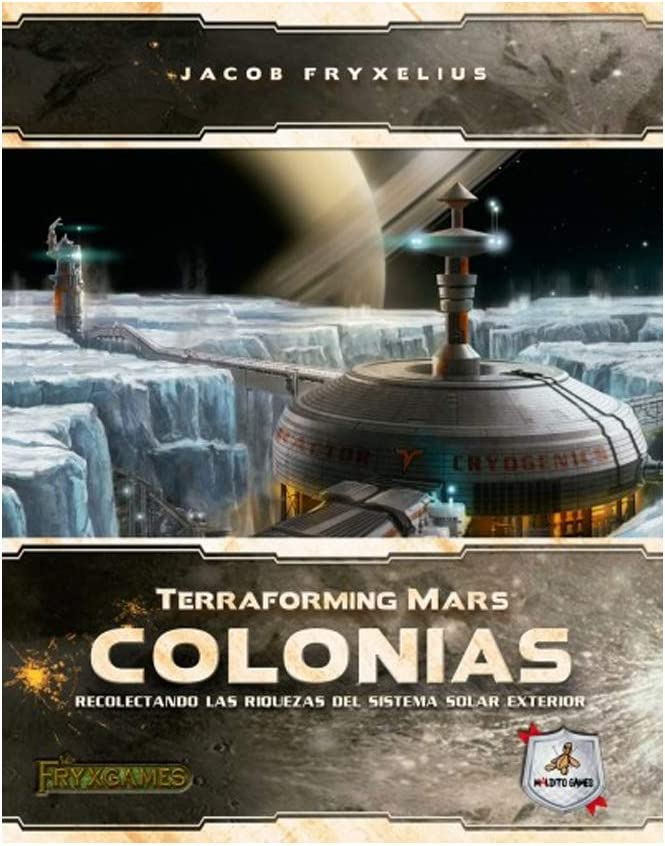 Maldito Games TERRAFORMING Mars - COLONIAS: Amazon.es: Juguetes y ...