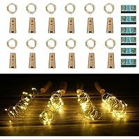 Vicloon Luz de Botella,2m 20LEDs Lámparas de Botellas