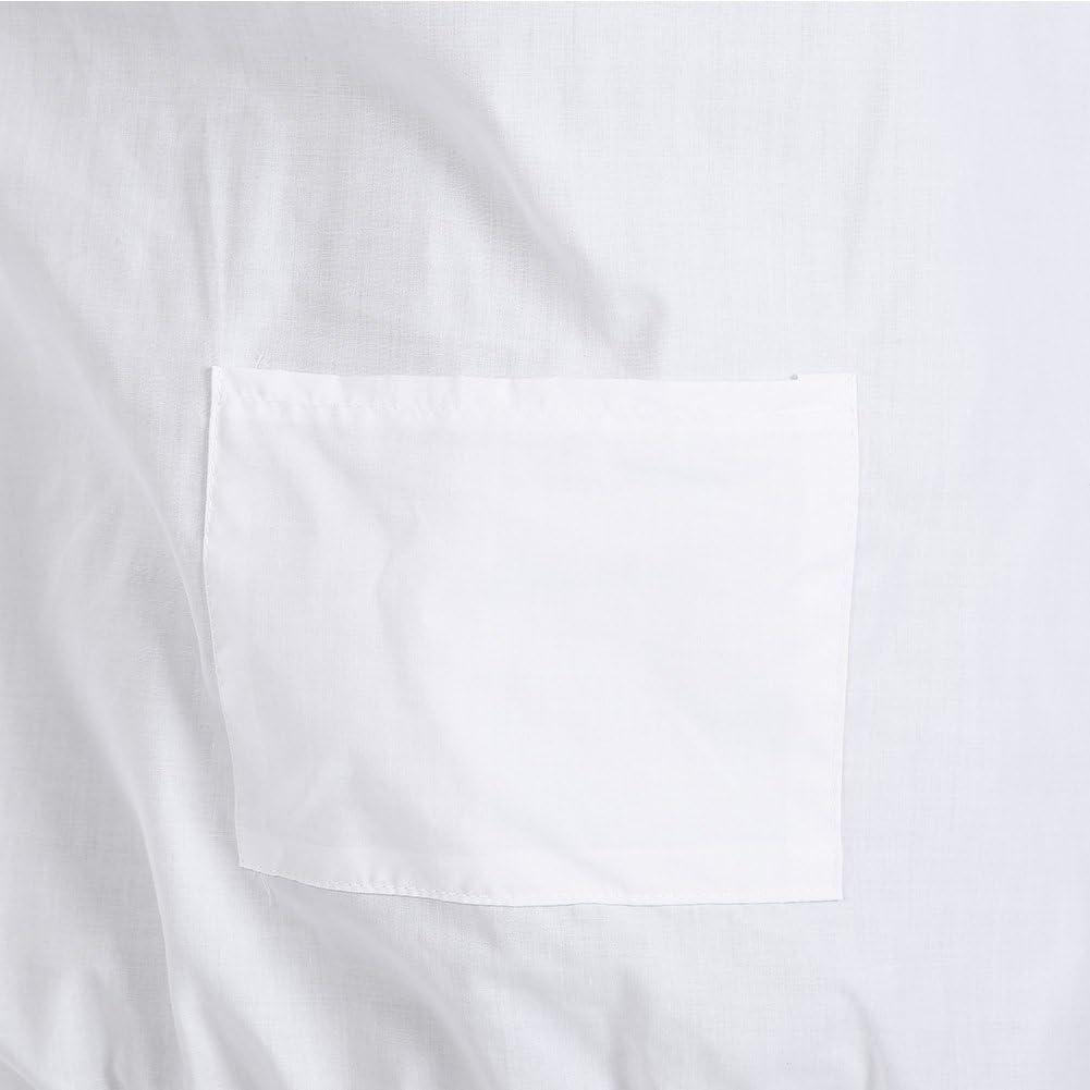 HERCHR Traje de Chaqueta Protectora de Apicultura Profesional Equipo de Apicultor con Velo Blanco con Capucha Desmontable Pu/ños el/ásticos Dise/ño de Cintura Mejor protecci/ón