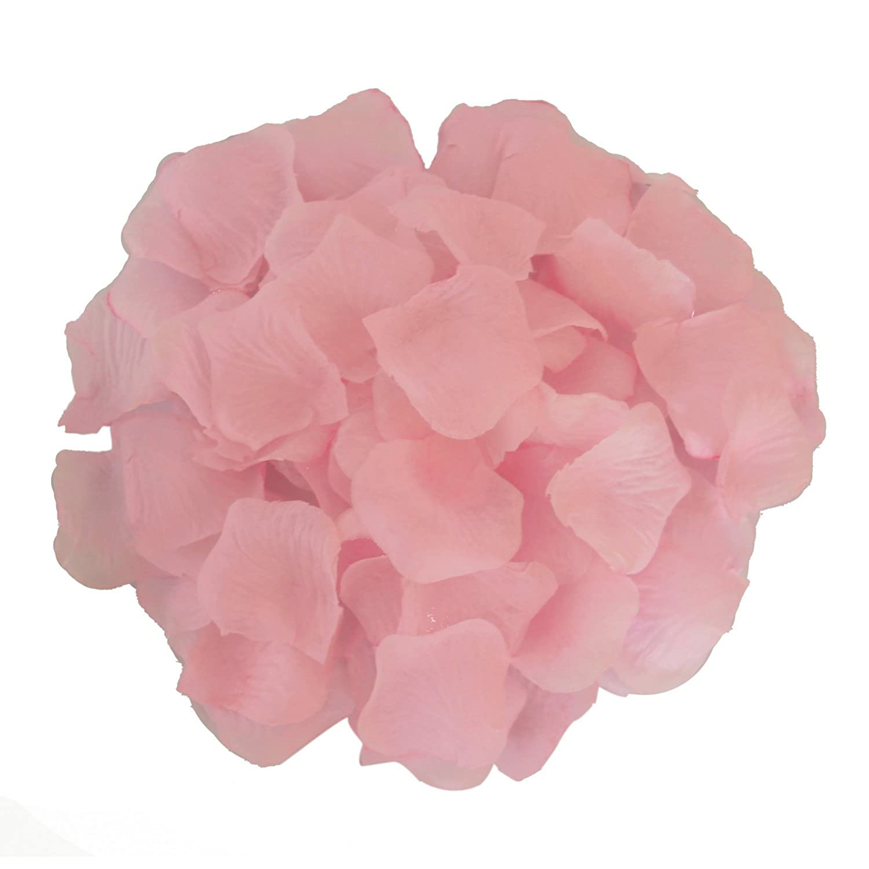 Light Pink JUYO VONSAN 2000pcs Rose Petals Odorless Flower Petals Artificial Petals for You Special Wedding
