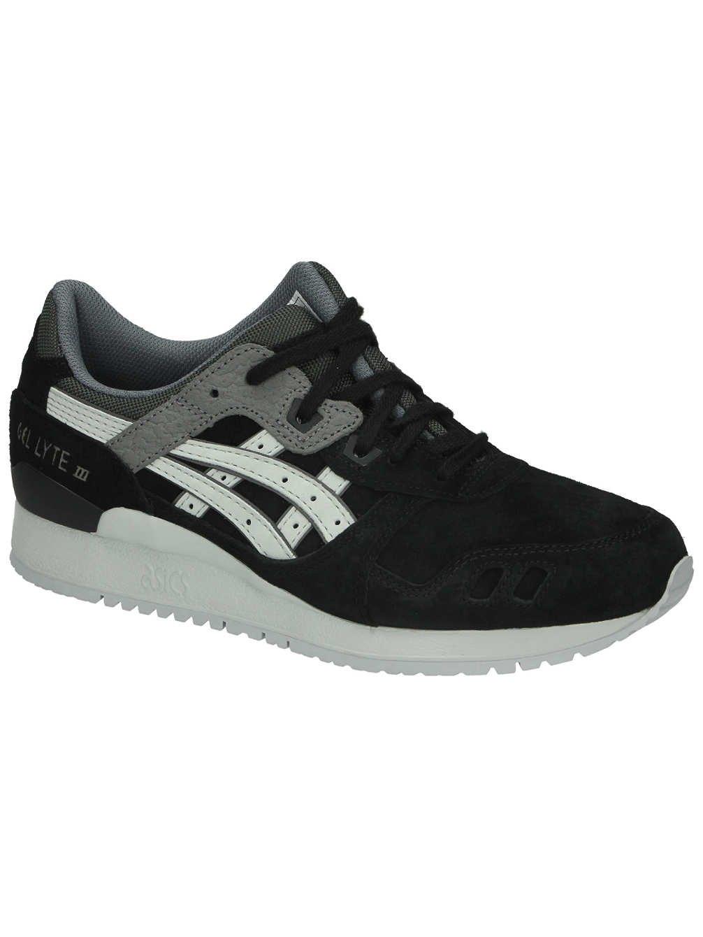 Asics Gel Lyte III Black/Soft Grey HL6B19010, Deportivas 39 EU|Noir