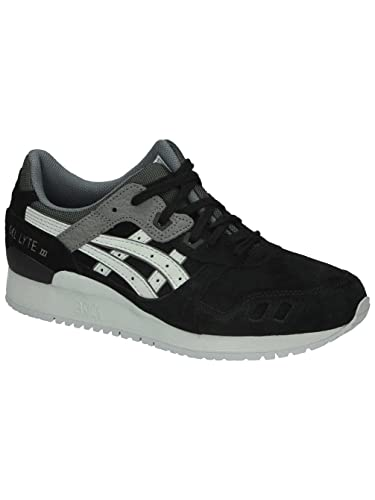 c95dbc4657a7 ASICS Gel Lyte III Mens Running Sneakers Shoes-Black-5.5
