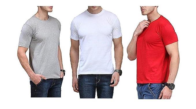 423fe281cc3 M O D Plain T-Shirt Men   Women