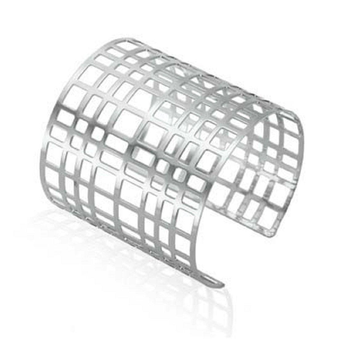 Rima Imar Silver Square Cut Bracelet