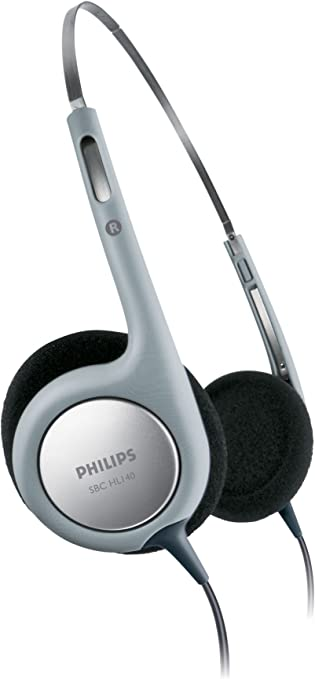 Philips SBCHL140 Leichtkopfhörer mit Metall-Kopfband 96 dB, 100 mWatt