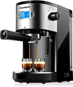 Bonsenkitchen 20 Bar Foaming Milk Frother Wand Espresso Machine