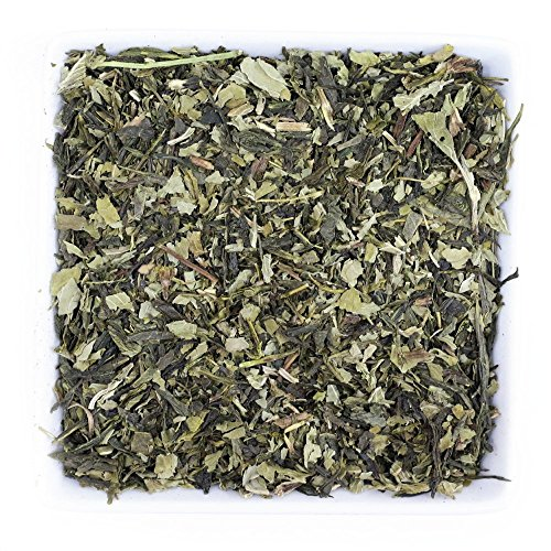 Tealyra - Peppermint Green - Refreshing Mint with Green Loose Leaf Tea - Relaxing - Digestiv - Low Caffeine - All Natural - 112g (4-ounce) (Refreshing Tea)