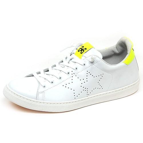Fluo F3696 2Star Sneaker Amazon Uomo Man WhiteYellow Scarpe Shoe fRwqIwC 52982c1750b