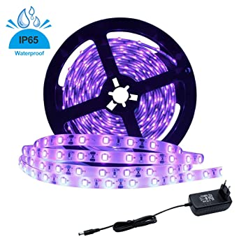 LightingWill Franja de luz LED UV de 24W UV, Ultravioleta ...