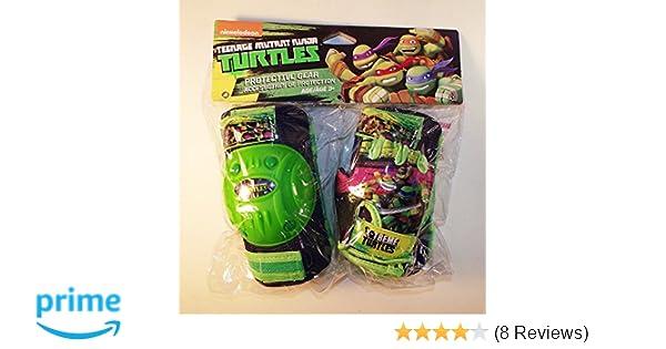 Teenage Mutant Ninja Turtles Protective Knee Pads and Gloves