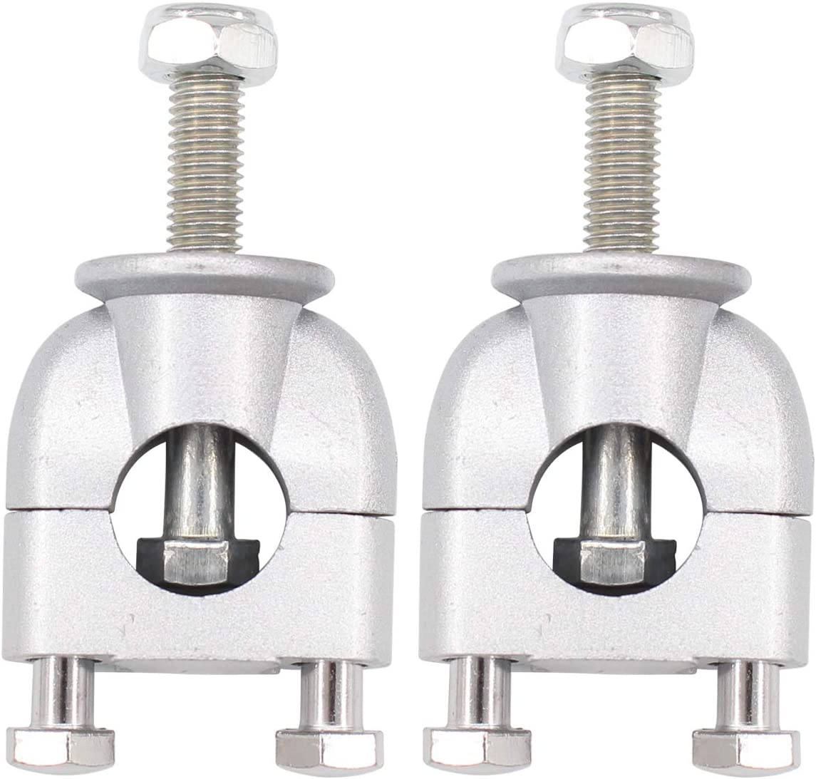 XtremeAmazing 22mm 7//8 Inch Handlebar Risers Mount Clamps for Motorcycle ATV Dirt Bike Pack of 2