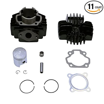 Amazon com: FLYPIG For Yamaha Pw50 Qt 50 Qt50 Cylinder Piston Ring
