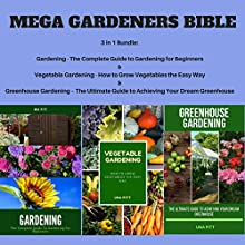 Mega Gardeners Bible Audiobook by Una Pitt Narrated by Sangita Chauhan