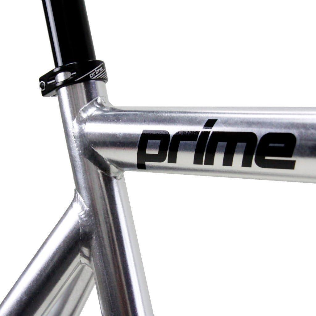 Zycle Fix Prime Alloy Track Bike 55cm Frame; Chrome