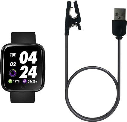 Amazon.com: Cargador USB para Verpro Smartwatch, cable de ...