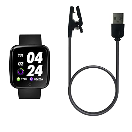 Amazon.com: Cargador USB para Verpro Smartwatch, cable de ...