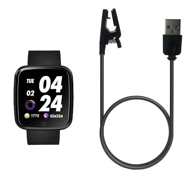 Cargador USB para Reloj Inteligente Verpro, Accesorios de Clip de Cable de Carga de Repuesto