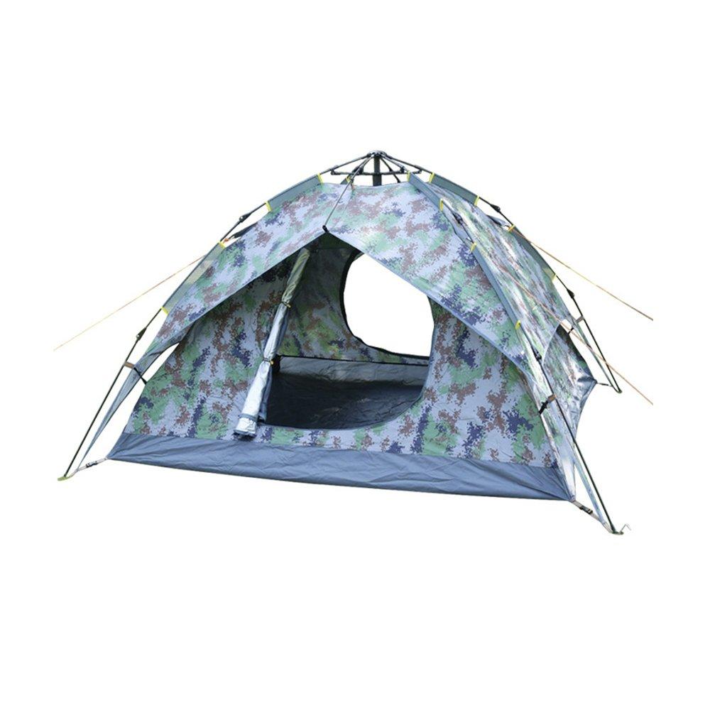 Folconauto 6.6  7,5  4.6 Ft Outdoor Automatische Camping Zelt Doppelten Double Door Wasserfest Tragbar Zelt für 3–4 Personen schnellen Öffnen Zelt